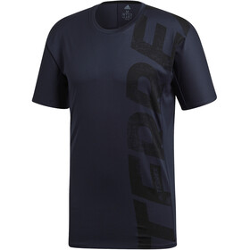 adidas TERREX Trail Cross T-paita Miehet, legend ink